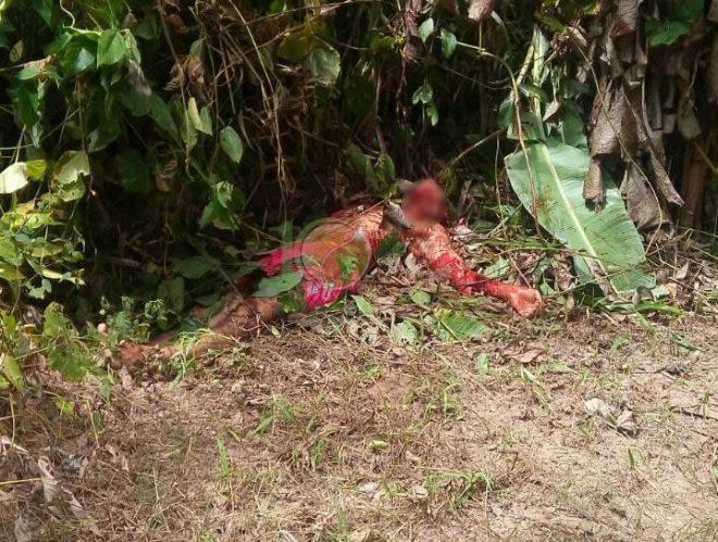 Vítima foi morta no Bairro Pantanal e corpo foi localizado por moradores.