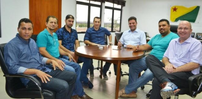 Ney Amorim deu boas-vindas à nova bancada do PP