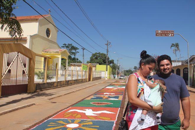 O ministro da palavra, Adalcimar Silva de Melo juntamente com sua esposa, falou da importância do evento e convida a todos para celebrar data - Foto: Alexandre Lima