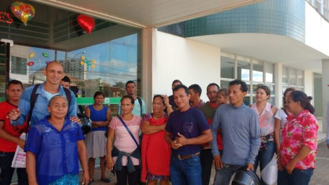 Cerca de 20 famílias reivindicam assentamentos/Foto: ContilNet