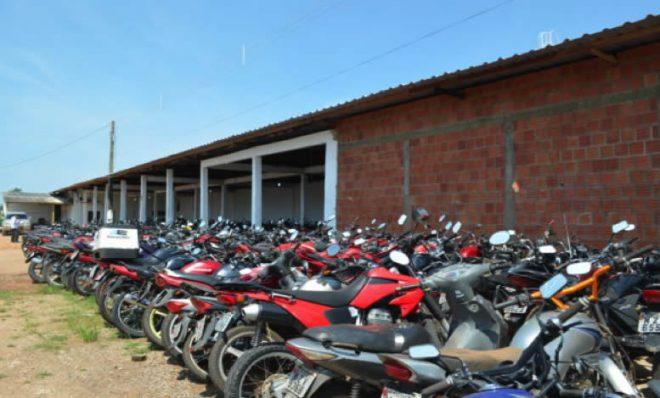 Todos os veículos oferecidos são motocicletas (Foto: Arquivo/ Detran)