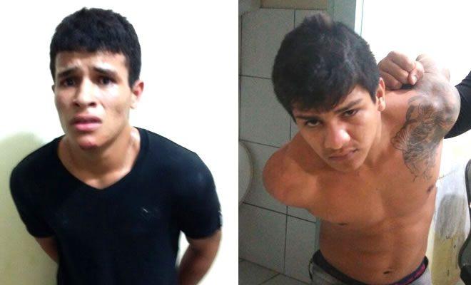 Lucas 'Bocão' e Genilson 'Bebê' foram recapturados após duas semanas foragidos.