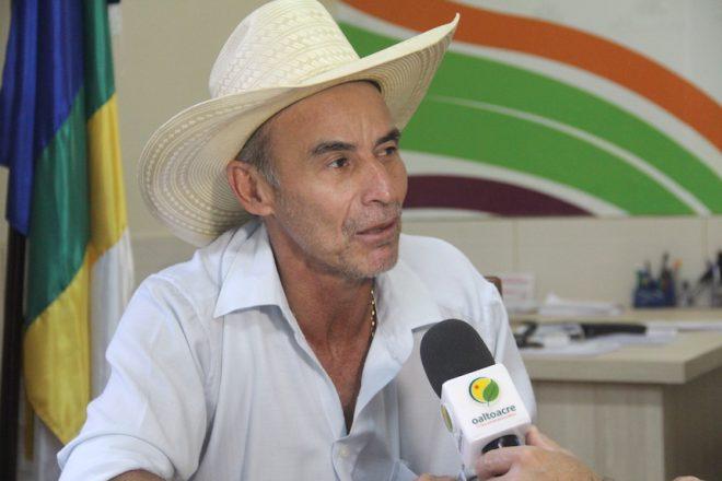 Prefeito em exercício, Jorge da Fazenda - Foto: Alexandre Lima