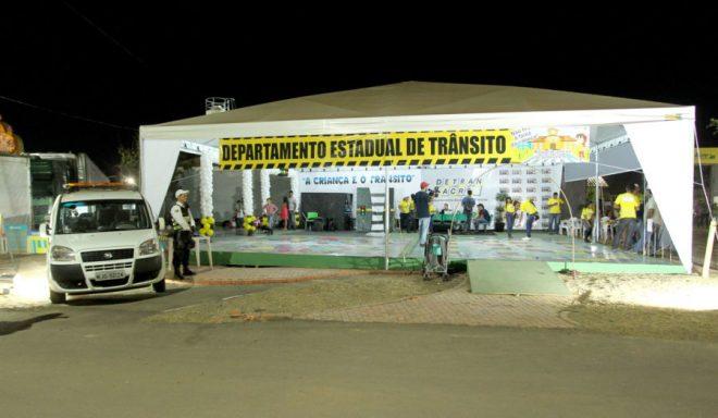 Detran/AC esteve presente nas nove noites de ExpoAcre /Foto: Agência de Notícias