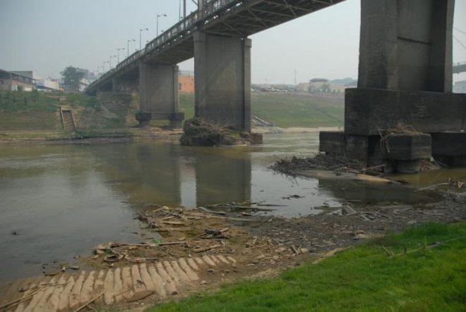 Situação do Rio Acre se agrava a cada dia /Foto: Agência de Notícias
