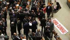 Aliados de Eduardo Cunha tentaram até o fim uma última manobra para que o deputado conseguisse uma pena mais brandaFabio Rodrigues Pozzebom/Agência Brasil
