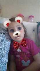 Vitória Lorena, 2 anos