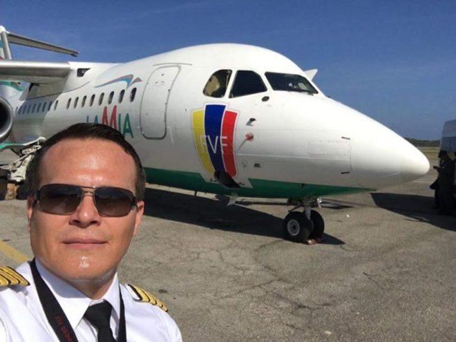 Piloto Miguel Quiroga morreu em acidente de avião nesta terça-feira (29) (Foto: Reprodução/Facebook)