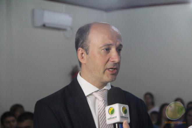 Juiz da 6ª Zona Eleitoral, Doutor Gustavo Sirena - Foto: Alexandre Lima