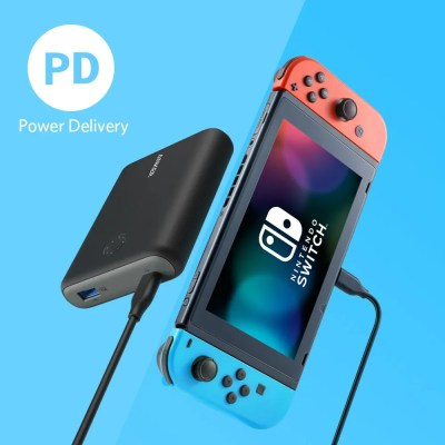 Anker PowerCore 13400 Nintendo Switch Edition Portable Charger for Nintendo Switch