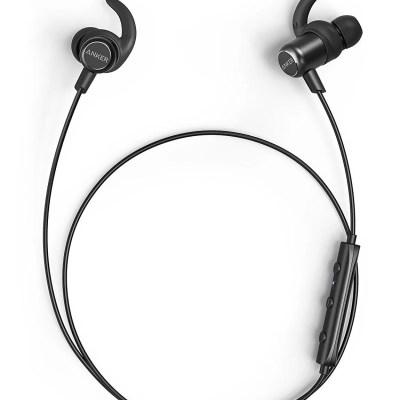 Anker SoundBuds Slim+ Bluetooth Earbuds Water-Resistant