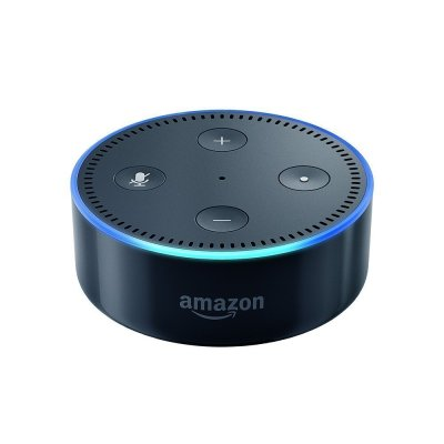 Amazon Echo Dot (2nd Generation) – Black (Refurbished)