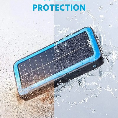 Anker PowerCore Solar 20000 18W USB-C Power Bank