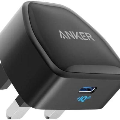 Anker 20W PowerPort III Nano USB C Charger – Black
