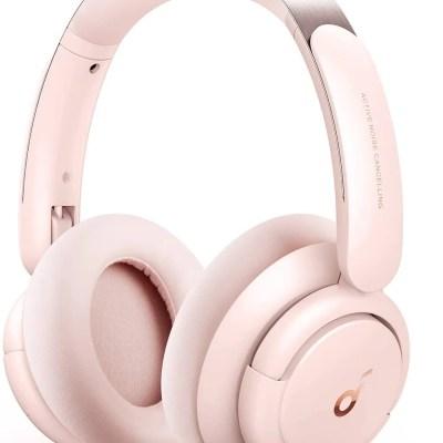 Anker SoundCore Life Q30 Headphones (Pink)