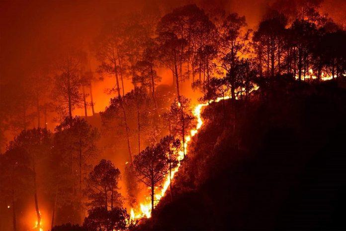 Map Current Fires 2017 La