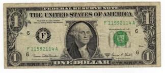 U.S.A. 1 Dollaro - 1969