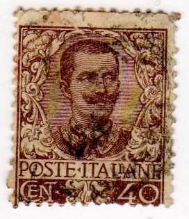 FLOREALE, 40 CENT, 1901