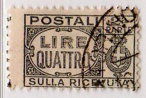 Pacchi postali 1946 4 Lire