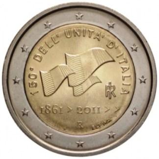 Italia 2 euro 150° unità d'Italia 2011