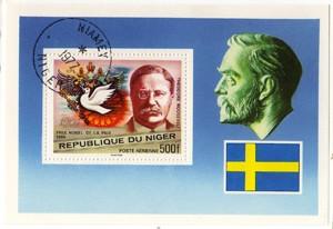 Niger foglietto Roosevelt