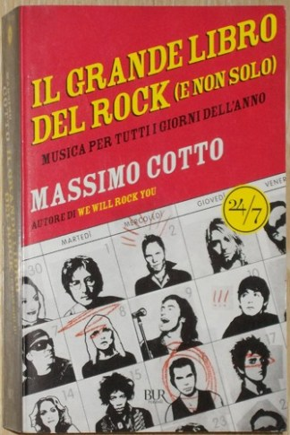 Il grande libro del rock (e non solo) - Cotto