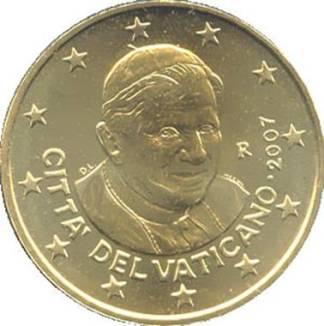Città del Vaticano 50 cent 2011