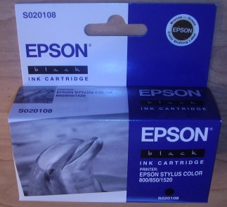 Epson S020108 black