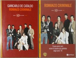 ROMANZO CRIMINALE, LIBRO E DVD