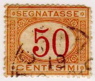 SEGNATASSE 1870 - 1894