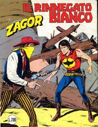 Zagor, 253, Il rinnegato bianco
