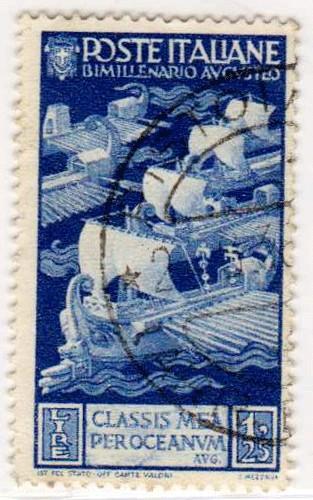 Bimillenario della nascita di Augusto, costituzione della flotta