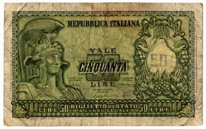 Italia 50 lire