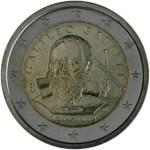 Italia 2 Euro 450° Anniversario nascita Galileo Galilei
