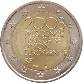 Francia 2 euro presidenza UE 2008