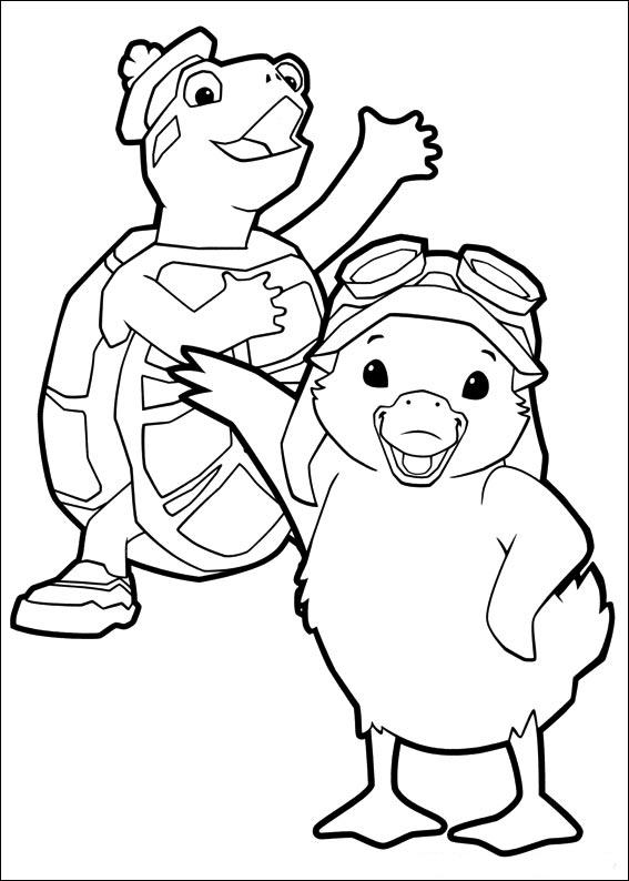 Coloring Book Wonder Pets