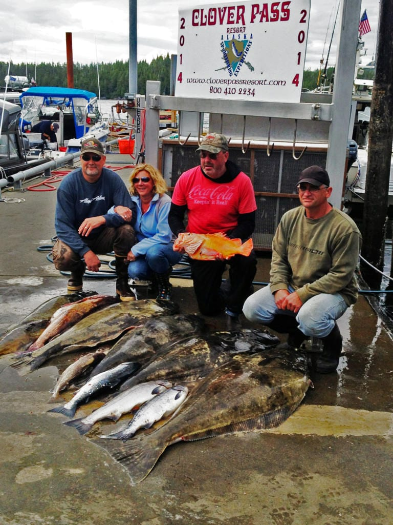 Ketchikan Fishing Charters for Salmon and Halibut