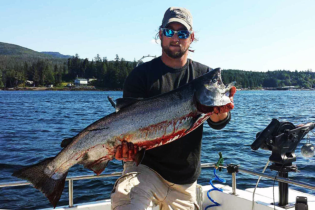 Charter fishing in ketchikan may 30th charter fishing in for Salmon fishing ketchikan alaska