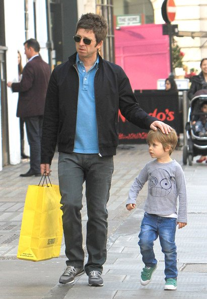 """Noel Gallagher about his children: """"Every time I pick up a ..."""
