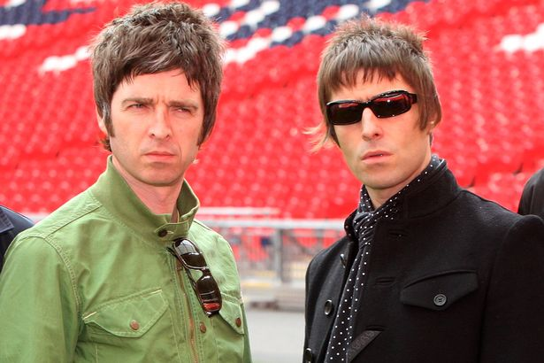 Oasis, Noel Gallagher, Liam Gallagher