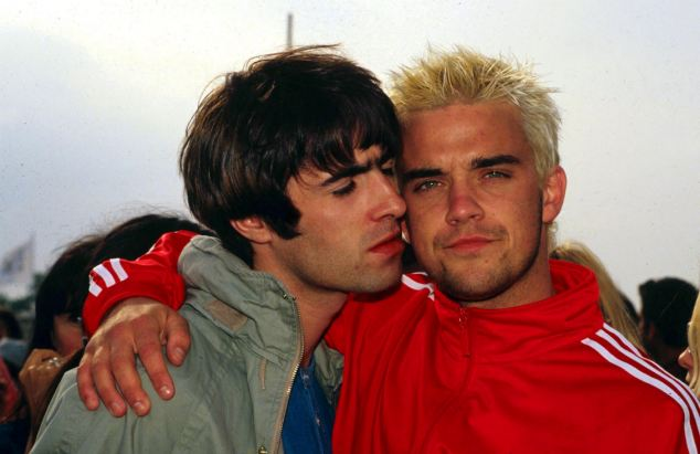 Liam Gallagher, Robbie Williams