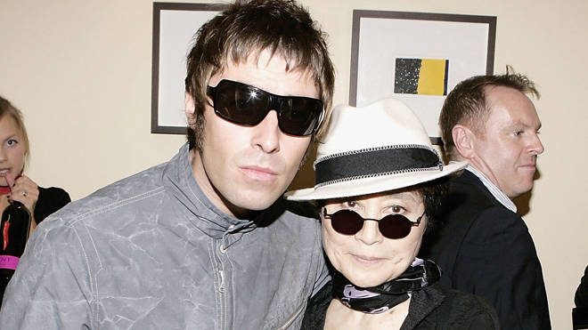 Liam Gallagher, Yoko ono