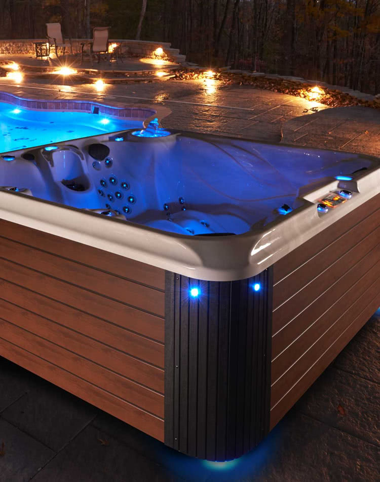 Binghamton's Largest Hot Tub Showroom - Strong Spa - Oasis ... on Outdoor Living Spa id=84460