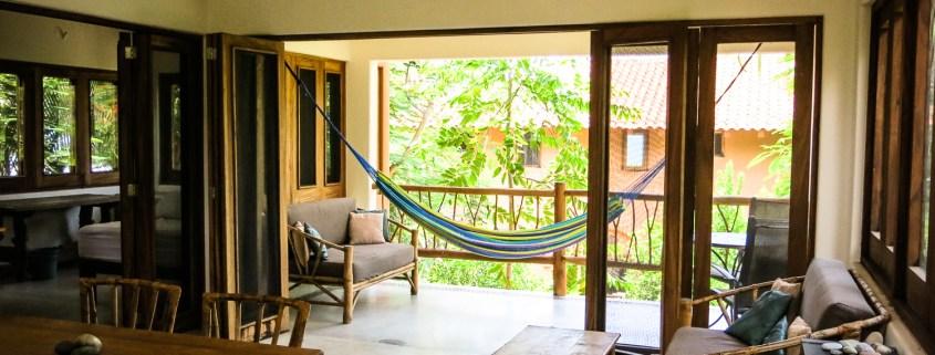 Casa Oasis Troncones Treehouse Loft living area