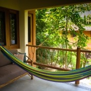 The hammock at the Treehouse, Casa Oasis Troncones