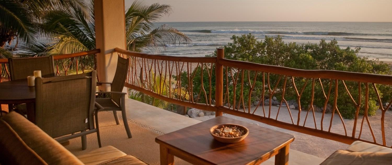 Casa Oasis Troncones beach rental panoramic ocean view