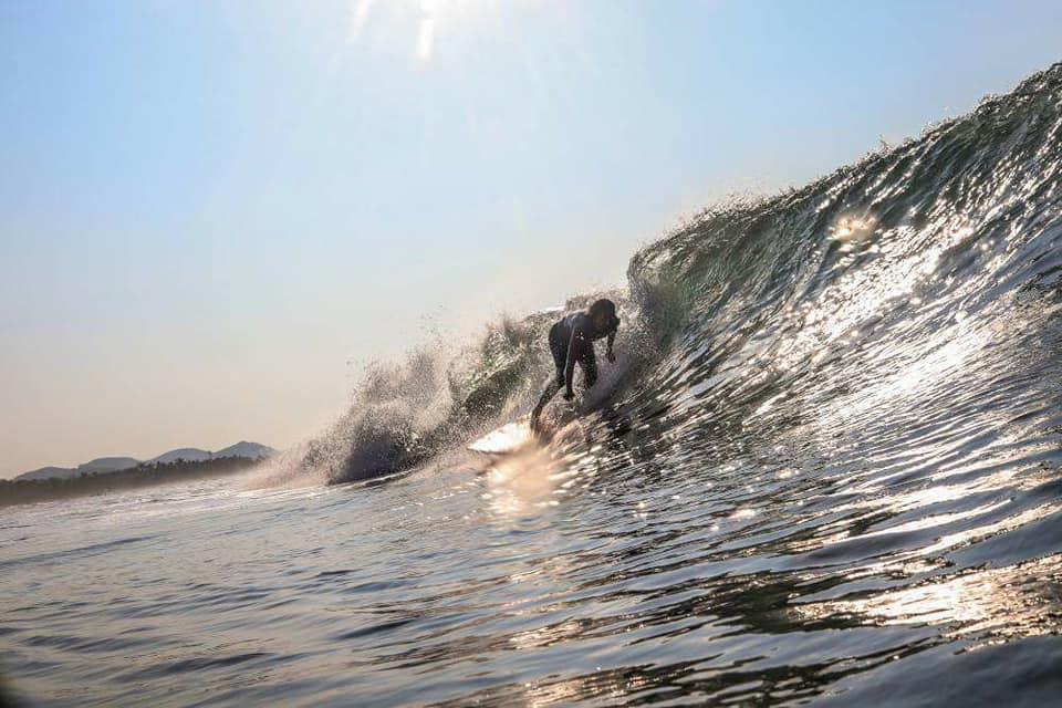 Troncones surf guide - break at Casa Oasis