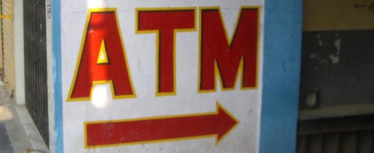 ATM sign image by Frank Hebber