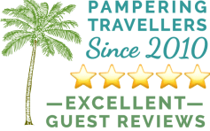Guest reviews button - Casa Oasis Troncones rated excellent