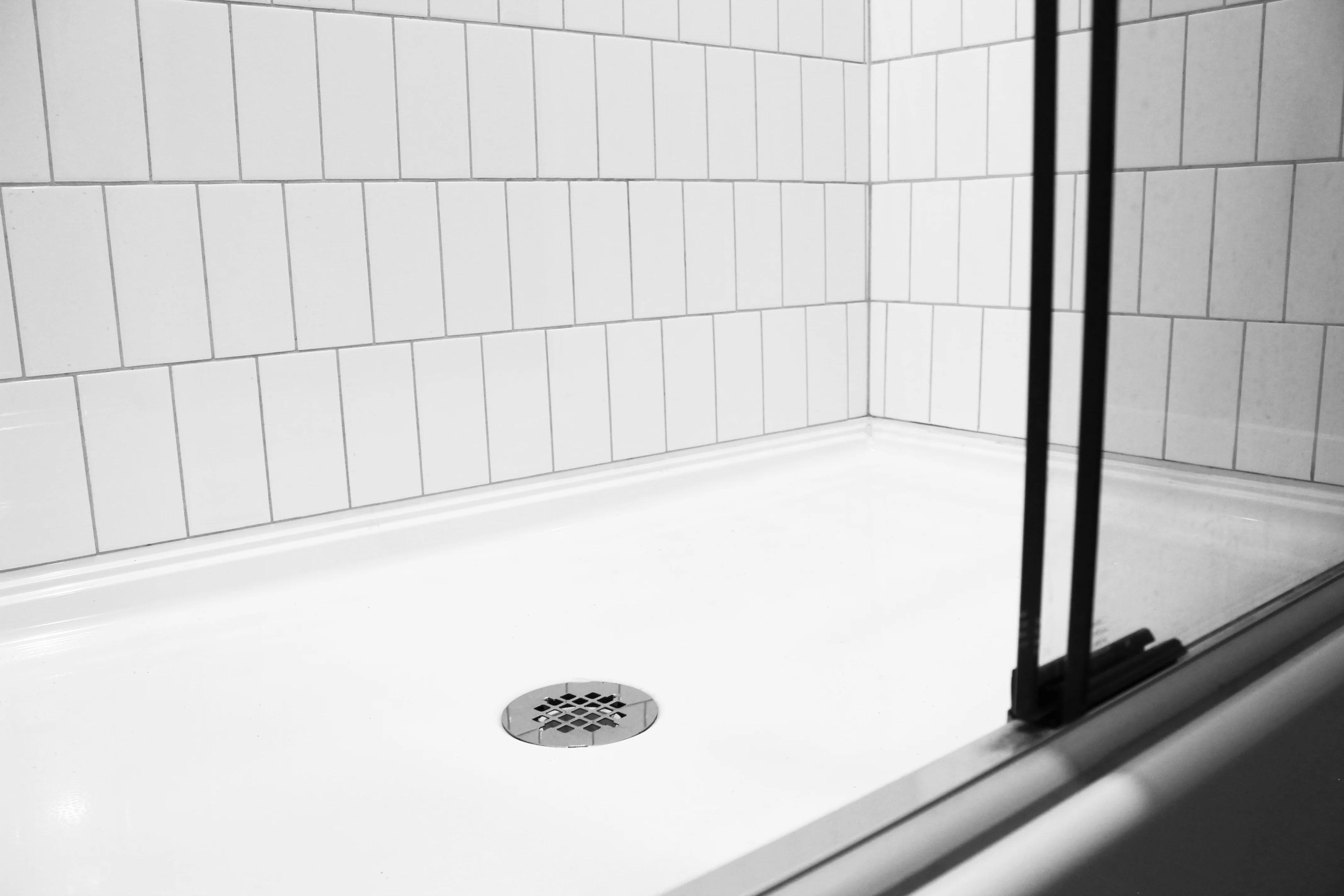 installing a no caulk shower drain oatey